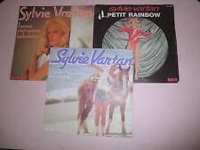 SYLVIE VARTAN Lot de 3 disques