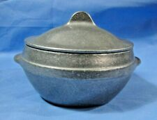 York Metalcrafters Covered Pewter Bowl 7002 w/ Lid 1010