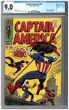 Captain America #105 CGC 9.0