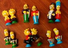 The Simpsons 3D Chess Set Board Game Incomplete 1991 Missing High Pieces