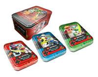 Lego® Ninjago™ Serie 5 Trading Card Game alle 4 verschiedene leere Tin Dosen