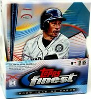 2020 Topps Finest Baseball Hobby Box Break! $12, RANDOM team, live draw!