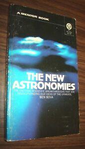 The New Astronomies  Ben Bova 1972 Mentor Paperback
