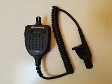 Motorola GPS II remote speaker microphone RSM with audio jack HMN4107