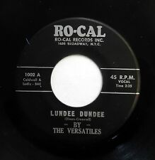 VERSATILES 45 Lundee Dundee Whisper in your Ear hairline crack ORIG.RO-CAL  m603