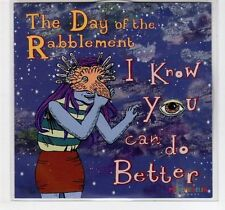 (EF180) The Day Of The Rabblement, I Know You Can Do Better - 2013 DJ CD