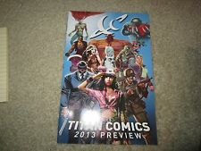 2013 Titan Comics Preview Retailer Giveaway At 2013 New York Comic Con