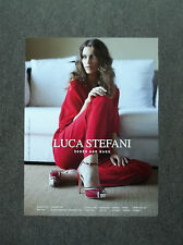 H442 - Advertising Pubblicità -2013- LUCA STEFANI , SHOES AND BAGS