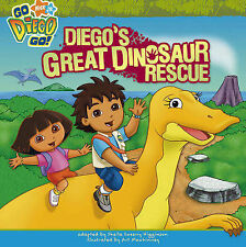 "Diego's Great Dinosaur Rescue (""Go Diego Go!"") Nickelodeon Simon & Schuster Chil"