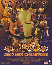 Los Angeles Lakers 2000 NBA Championship Basketball Picture Plaque