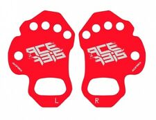 ACERBIS PALM PROTECTORS SAVERS RED MOTOCROSS MX ENDURO NO BLISTERS GLOVES BMX