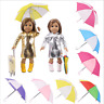 Doll Sun umbrella Accessories For 18'' American Girl Our Generation Doll