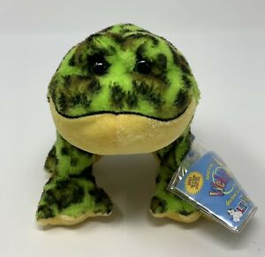 GANZ Webkinz Lil Kinz Bullfrog Bean Bag Plush Stuffed Animal SEALED CODE - READ