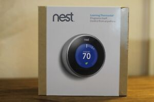 Google Nest T200577 Learning Thermostat (2nd Generation) New Factory Sealed