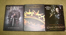 Game of Thrones - Seasons 1 2 3 DVD (14 discs) - GC Region 1