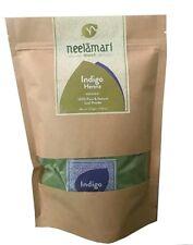 Neelamari Natural Indigo + Henna Powder (100g+100g),no more chemical hair dyeing