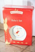 2 PC Royal Doulton Bunnykins Infant Set Cereal Bowl 1 Handle Mug New In Box 2003