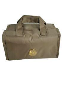 JM New York Joy Mangano Medium Roll Up Travel Toiletry / Cosmetic Organizer Bag