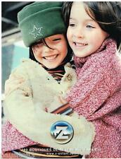 PUBLICITE ADVERTISING 105  2002  Z  vetements enfants