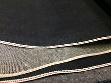 Cone Mills USA White Oak Selvedge DARK INDIGO Selvage Denim Fabric 13oz 10y