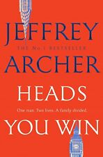 Heads You Win by Jeffrey Archer - 9781509899524 (Paperback Book Brand New 2018)