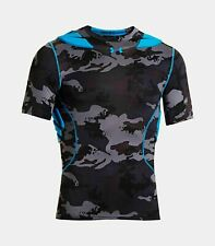 NEW Under Armour UA Gameday Armour Camo Baselayer Padded Compression Shirt