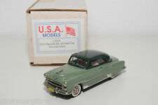 . U.S.A. MODELS MOTOR CITY USA-4 CHEVROLET BEL AIR HARD TOP 1951 GREEN MINTBOXED