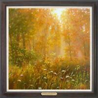 "Hand painted Oil painting original Art Landscape tree on canvas 30""x30"""
