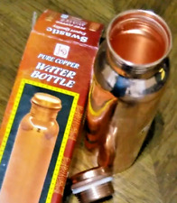 BOTTLE FOR LIFE COPPER WATER DRINKING BOTTLES STAY HEALTHY & ENERGETIC 100% GOOD
