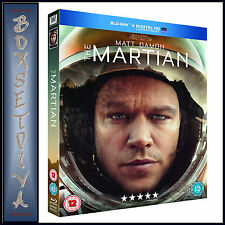 THE MARTIAN -  Matt Damon & Kate Mara *BRAND NEW BLURAY **