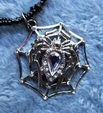 Spider Web Necklace, Halloween