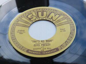 ELVIS PRESLEY  SUN 45   THAT'S ALL RIGHT    SUN 209    1970s  REPRO