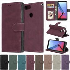 Matte Wallet Leather Flip Case Cover For ZTE A530 A610 S6 L8 A5 A7 2019 A7s V10