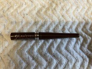 RIMMEL  LIQUED EYE LINER  GLAM EYES 002 BROWN VELVET 3.5 ML (New) FREE P&P