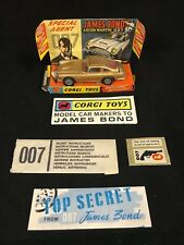 1966 Corgi James Bond Aston Martin DB5 In Original Box with ALL ACCESSORIES!!!