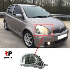 FOR TOYOTA YARIS 2003 - 2005 NEW FRONT HEADLIGHT LAMP H4 RIGHT O/S LHD