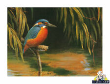 30x40 Kingfisher Glass Worktop Saver Protector Chopping Board Heat Resistant