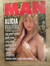 MAN Magazine #83 (Spain)  Alicia Bogo - Winona Ryder - Mariah Carey