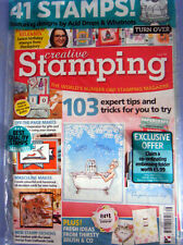 CREATIVE STAMPING WITH A4 SHEET OF CLEAR STAMPS GREAT DESIGNS NEW 34 STAMPS