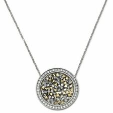 Swarovski Sound Silver Size 15 inches Pendant Necklace 1179028