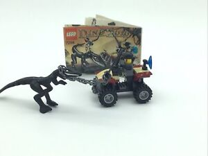 Lego Dino 7294  Quads 2010 with Instructions 100% Complete