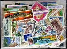 Chateaux - Castles 200 timbres différents oblitérés