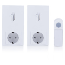 Byron Db433e Set Campanello Wireless Bianco