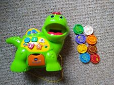 VTech Count and Chomp Dino Dinosaur Electronic Learning Toy for 1 Year Colors