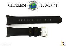 Citizen Eco-Drive BN2020-06E Original Black Rubber Watch Band Strap BN2029-01E