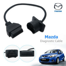 Mazda OBDII OBD2 Diagnostic Cable Adapter Connector Code Tool 17Pin to 16Pin