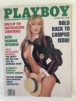 Playboy Magazine - October, 1989 - Back Issue - Vintage with Centerfold Intact
