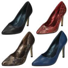 Stiletto Slip On Synthetic Heels for Women