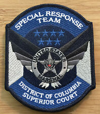 US Marshals Service - DC Superior Court SRT Team FC-Genuine *Kokopelli Patch*