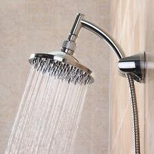 """6"""" SOFFIONE DOCCIA BAGNO PIOGGIA SOTTILE CROMATO SHOWER RAINFALL BATH SHOWER TAP"""